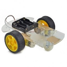 Arduino 2 Wheel Drive Mobile Robot Platform Chassis