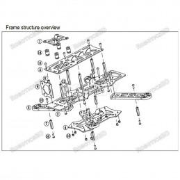 ZMR250 Glass Fiber 4 Axis 250 MM FPV Quadcopter Mini H Quad Frame for QAV250