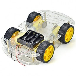 4WD Smart Robot Chassis Kit