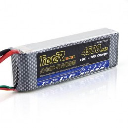 Tiger Lipo Battery 4500mah 3S 30C
