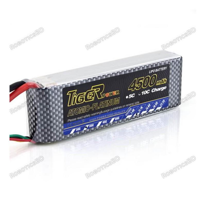 Tiger Lipo Battery 4500mah 3S 30C