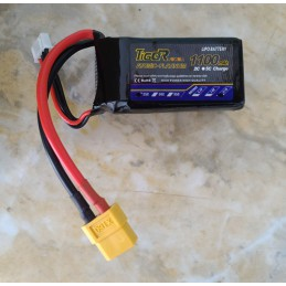 Tiger LiPo Battery 1100mAh 3S 25C