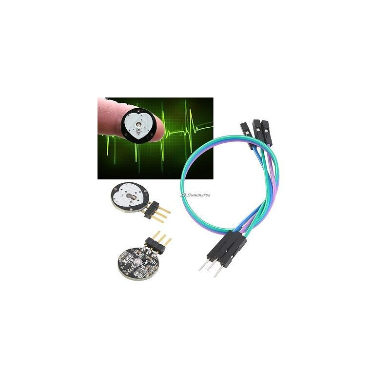 Heart Rate Pulse Sensor Pulsesensor Sensor Module For Arduino