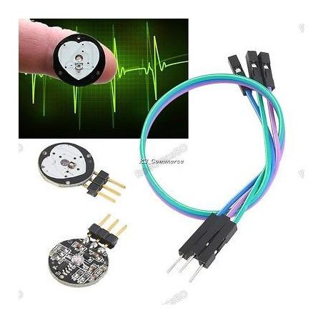 Heart Rate Pulse Sensor Pulsesensor Sensor Module For Arduino