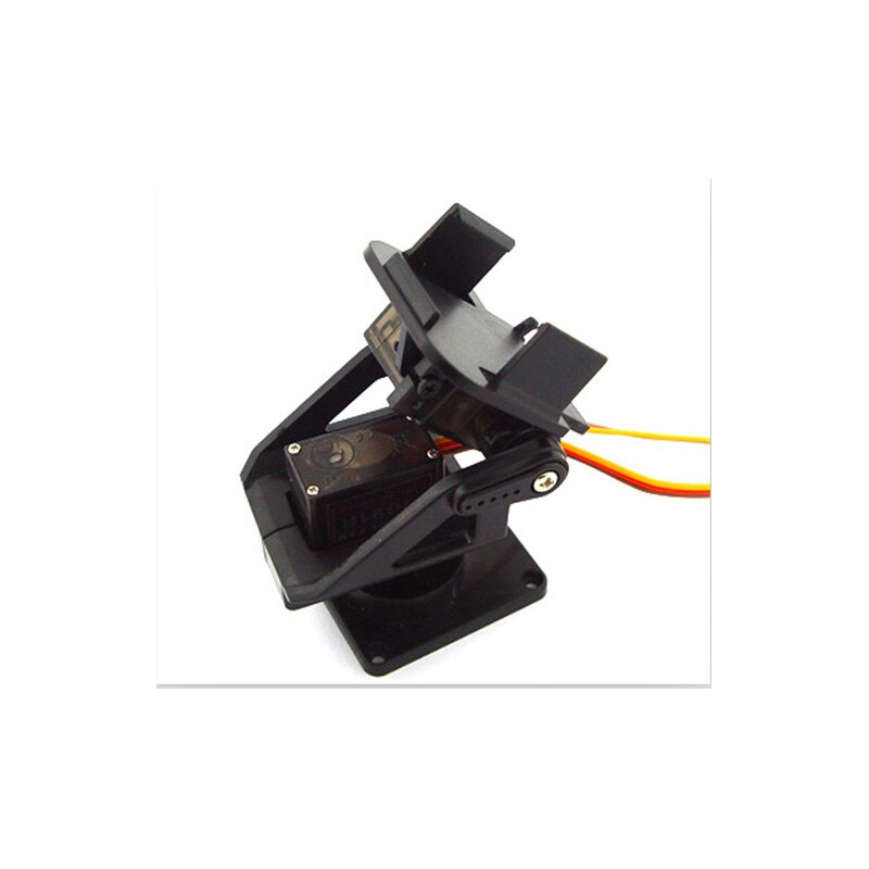 2-Axis FPV Nylon PTZ Pan/Tilt Anti-Vibration Camera Platform