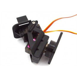 2-Axis FPV Nylon PTZ Pan/Tilt Anti-Vibration Camera Platform
