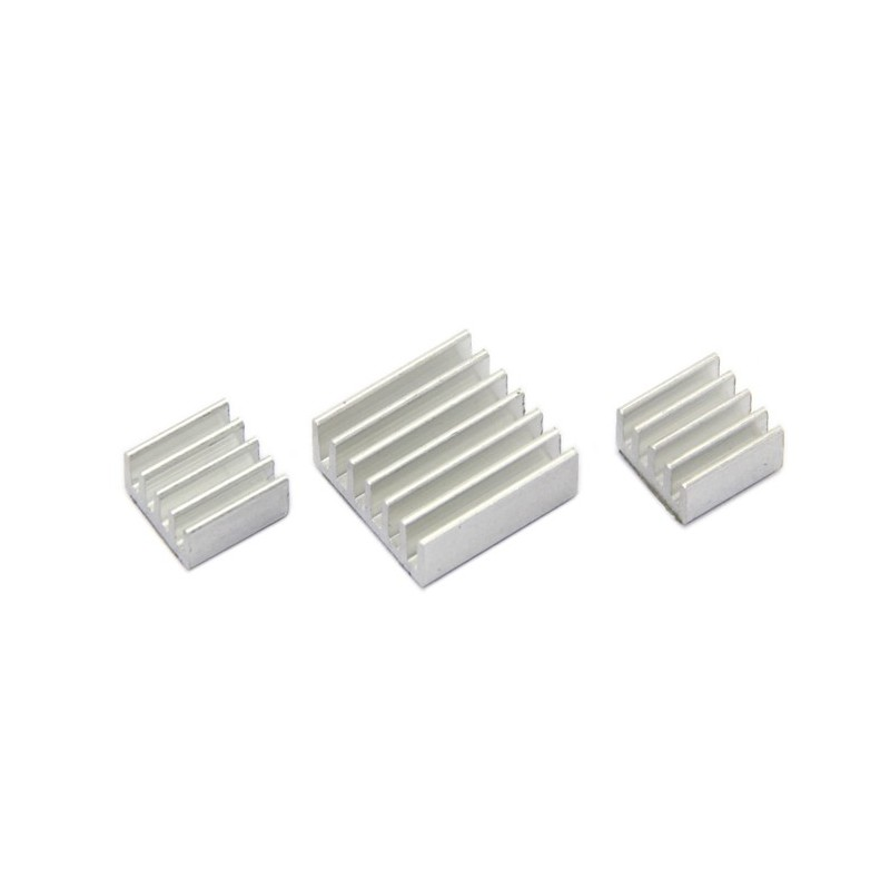 Aluminum Heat Sink With Adhesive for Raspberry Pi 3