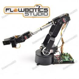 Lynxmotion AL5D 4DOF Robotic Arm SSC-32U Combo Kit (FlowBotics Studio)