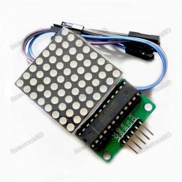 MAX7219 Red Dot Matrix Module MCU Control Display Module DIY Kit For Arduino