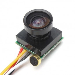 600TVL 1/4 1.8mm Lens CMOS 170 Degree Wide Angle CCD Mini FPV Camera NTSC