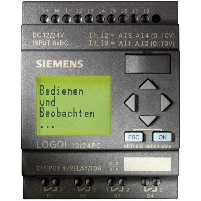 Siemens Logo 6ED1 052-1MD00-0BA6