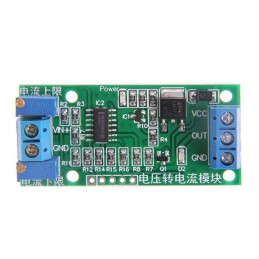 Voltage to Current Transmitter Signal Module 0-5V to 4-20mA Linear Conversion