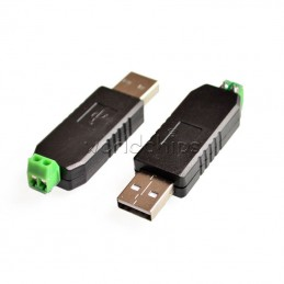 RS485 USB-485 Converter Adapter Support Win7 XP Vista Linux Mac OS