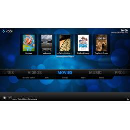 Raspberry Pi 3 Kodi Home Theater