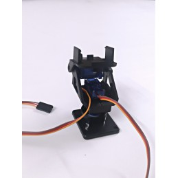 3D Printed Pan Tilt Camera Mount With Servo Motor