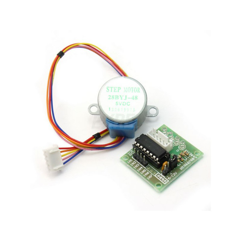 DC 5V Stepper Motor + ULN2003 Driver Board (28BYJ-48) for Arduino