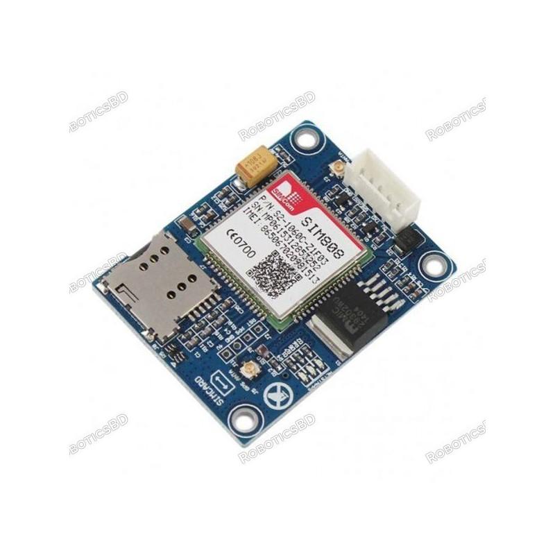 GPS GSM GPRS SIM808 Module (Arduino Compatible)