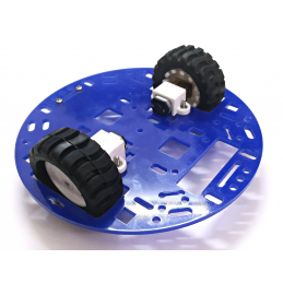 RC04A Chassis Kit Double Deck (12V, 300RPM)