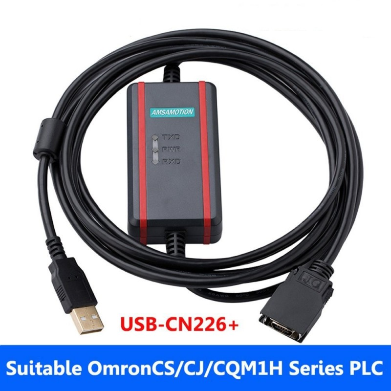 Omron PLC Programming Cable CS/CJ/CQM1H Series Download Cable USB-CN226