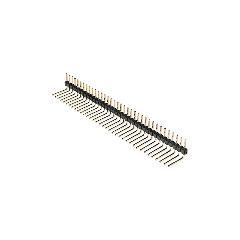 Male Pin Header Single Row (L Shaped)