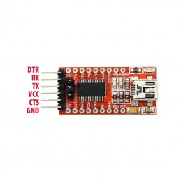 FTDI USB to TTL Serial Converter Adapter FT232RL