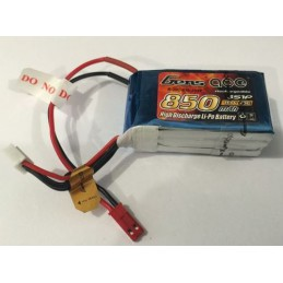 Gens-Ace 3S 11.1V 850mAh 20C LiPo Battery