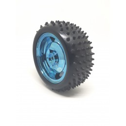 85mm Antiskid Shockproof Wheels, Smart Car Robot Tires