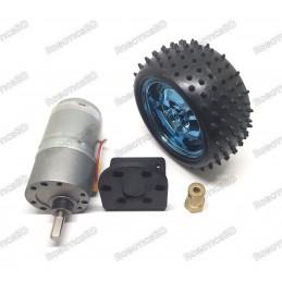 85mm Antiskid Shockproof Wheels, Smart Car Robot Tires with 37GB Motor