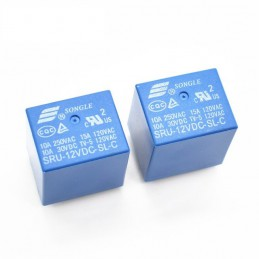 Songle Power 12VDC Relay SRU-12VDC-SL-C PCB 5 Pin