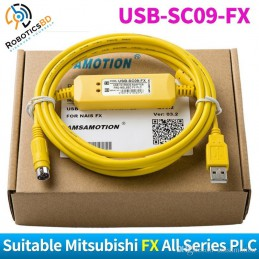 Mitsubishi PLC Cable USB-SC09-FX