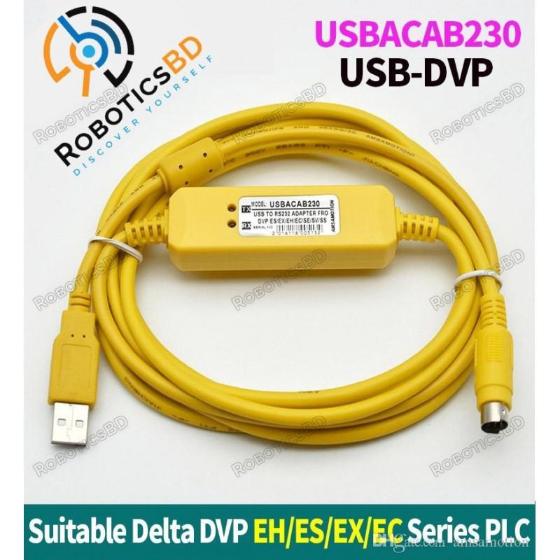 USBACAB230 Delta PLC Programming Cable