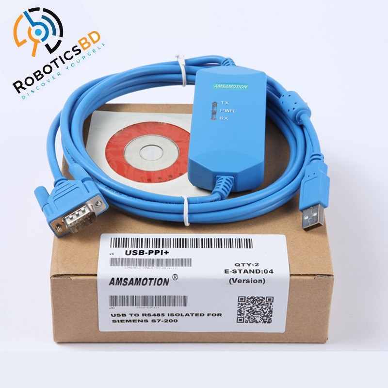 6ES7901-3CB30-0XA0 6ES7 901 Cable RS232 to RS 485 for PC//PPI Siemens S7-200 PLC