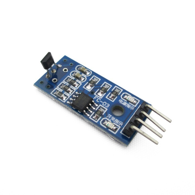 Hall Effect Sensor Switch Magnetic Detector Module For Arduino