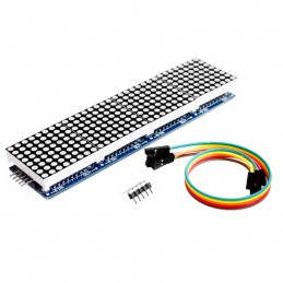 Max7219 4 Channel Dot Matrix Display Panel