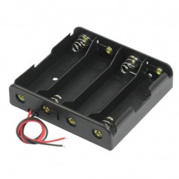 18650 Battery Holder 4S with wire