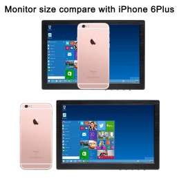 "10.1"" Inch IPS Monitor HD 1280x800 Portable Color Display Screen"