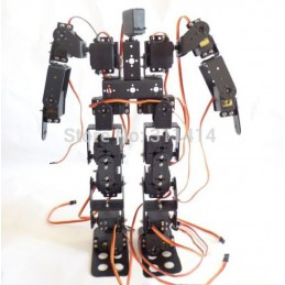 17DOF Biped Robot Educational Robot Kit 17 Degrees of Freedom Humanoid / Humanoids Walking Robot Kit