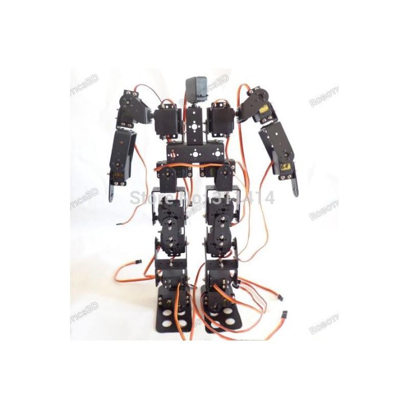 17DOF Biped Robot Educational Robot Kit 17 Degrees of Freedom Humanoid / Humanoids Walking Robot Kit