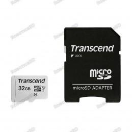 SDHC Card 32 GB (Class 10) with Raspbian OS.