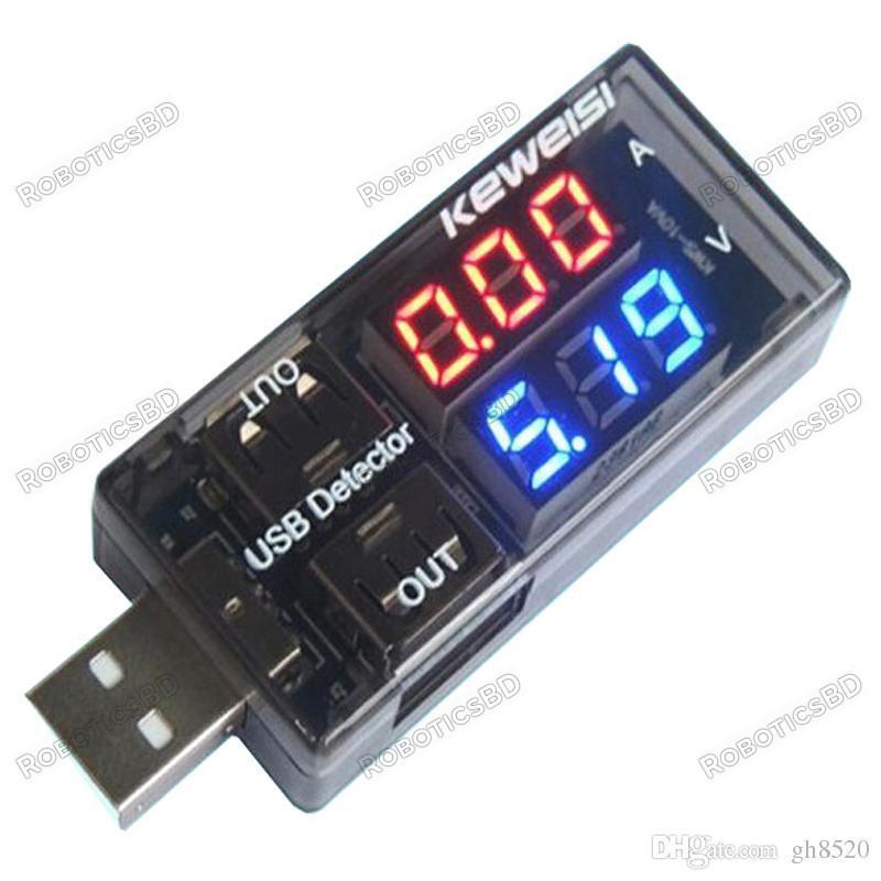 KEWEISI KWS-10VA USB TESTER AMMETER-VOLTMETER