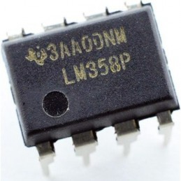 LM358P Dual Operational Amplifiers Op-Amp DIP8
