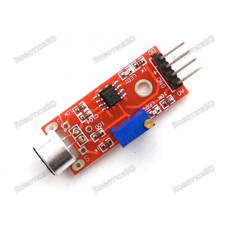 High Sensitive Microphone Sound Sensor Detection Module
