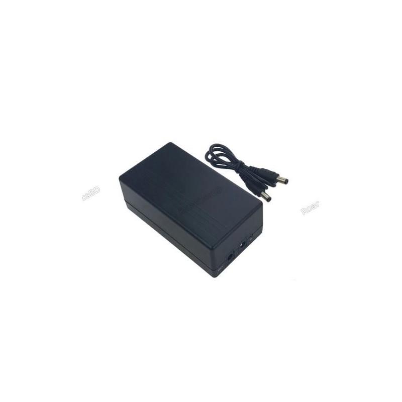 Mini DC UPS for Modem, Router, CCTV Camera 6000mA 22 2W 12V 2A