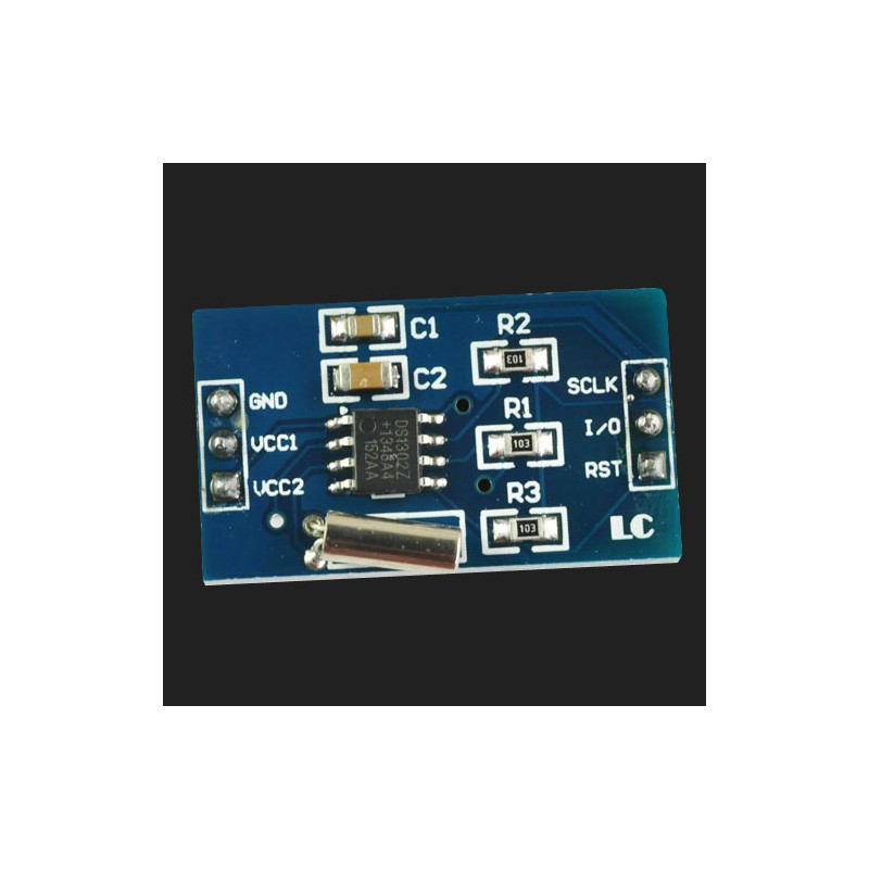 DS1302 Real Time Clock Module (DS1302Z clock chip,32 768KHZ crystal)