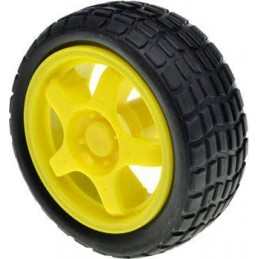 Yellow Plastic Mag Wheel...