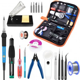 Soldering Iron Kit 21-in-1...