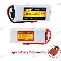 Lipo Battery 1000mAh 7.4V 2S
