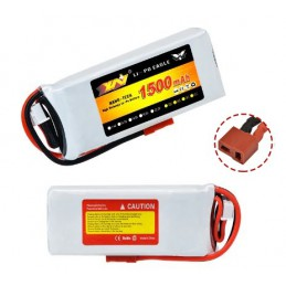 Lipo Battery 1500mAh 11.1V 3S