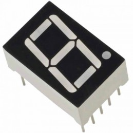1 Digit 7 Segment LED Display