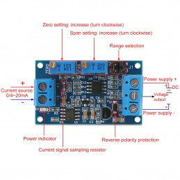 Current to Voltage 4-20mA...